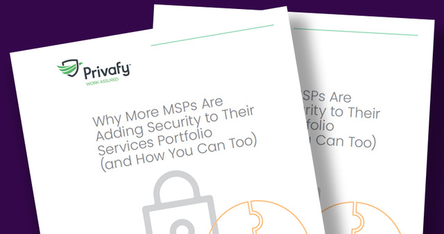 MSP adding Security guide cover